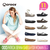 ♥Free Shipping♥ [CROCS] WOMAN Patricia Sienna Isabella Leigh Wedge Sandles Shoes Collection option 10 woman Daily casual CROCS sneakers comfort Shoes Original