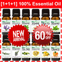 $19.90 ONE DAY FEATURED!! U.P: $71.90! [1+1+1] New Arrival 60% OFF ★USA 100% Pure Essential Oil★ 100% Pure Essential Oil ★ Lavender/ Orange/ Frankincense/ Lemongrass/ Peppermint/ Tea Tree/ Rosemary/ G