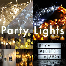[Fast Local Delivery] * LED Fairy lights* Decorations/Battery Operated Fairy LED Lights/Wedding Deco