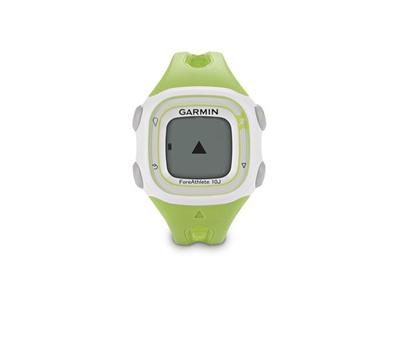 【送料無料】GARMIN ガーミン ForeAthlete10J Green フォアアスリート10J グリーン GPSマルチスポーツウォッチ レディス 腕時計【103911】の画像
