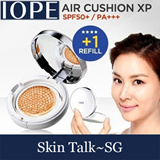 ★IOPE★ 1+1 (Cushion + Refill)[SKIN TALK-SG Delivery] IOPE Air Cushion XP SPF50+/PA+ 15g(+Refill 15g) / Air Cushion RX SPF50+/PA+ 15g(+Refill 15g)