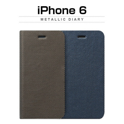 iPhone6カバーアイホン6 アイフォン6Plusケースiphone5.5ケース アイフォン ブランド iphoneカバー 【iPhone6 Plus ケース】 ZENUS Metallic Diary(メタリックダイアリー )【レビューを書いてメール便送料無料】※予約販売!10月中旬入荷予定!の画像