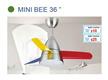 FANCO MINI BEE 36 3-Tone LED 18W 3 ABS Blade Remote Control