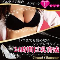 【送料無料!!】お試し★ 育乳に必要な3つの条件!!目指せグラマラス美Body♡グランドグラマー