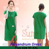 ● GSS SALE ● South Korean popular Polyandrum dress THE GREAT SINGAPORE SALE