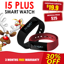 ♣SmartWatch/Touchscreen Smartband I5 PLUS ★ Touchscreen/Gesture Control Caller ID/Message Display Direct USB Charge Lightweight Large Screen Multi-functional Fitness Sleep Tracke