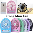 Fashion Necessary Summer Full Metal Frame Metal Blade USB Mini Fan with On/Off Switch 360 Degrees Tilt Rotation Strong Mini Fan