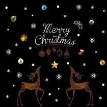 クリスマス//Merry Christmas/3D壁紙/超高満足度/最安値/3D/ウォールステッカー/ウォールペーパー/貼るだけで部屋が明るく/wallsticker/35種類から選べる豪華なウォールシール/DIYリフォームシール