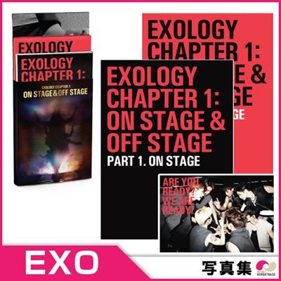 【安心国内発送】【初回ポスター】「 EXOLOGY CHAPTER 1:ON STAGE&O#8203#8203FF STAGE 」の公演写真集 ◆ エキソ エクソ【K-POP】【CD】の画像