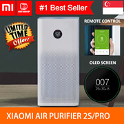 💖LOCAL SELLER💖 [Xiaomi Smart Air Purifier 2s/Pro] - use app check air quality -1stshop Singapore