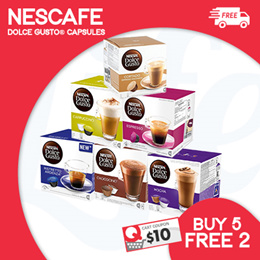 [NESCAFE] DOLCE GUSTO CAPSULES 5+2 FREE CAPSULES