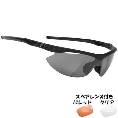 ティフォージ(Tifosi) スリップ マットブラック アジアンフィットスモーク TF1060100101 【自転車 サイクリング ランニング アイウェア サングラス】の画像