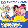 ★FAQ★Toys★running man★Pie face showdown★double cream Pat your face