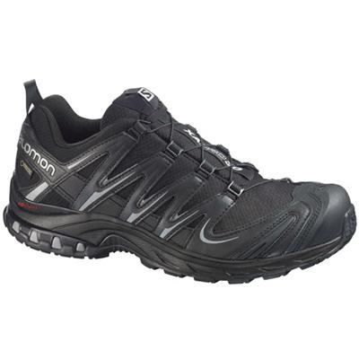 サロモン(SALOMON) プロ3Dゴアテックス(XA PRO 3D GTXR) BLACK/BLACK/PEWTER L36678600 【アウトドアウェア スポーツウエア ランニングシューズ 靴 メンズ】の画像