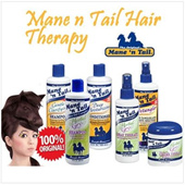 SHAMPOO MANE N TAIL/ SHAMPO KUDA ORIGINAL - HERBAL GRO - DEEP MOISTURIZING - COLOR PROTECT - GENTLE - ASLI USA 1000%