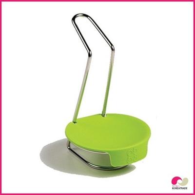 【日用品】 spider locレードルスタンド(green)GS-3205の画像