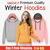[ Unisex Winter Hoodie] New Arrival |-40 To 20 Degree | Winter collection | Outerwear | Winter Jackets | Blazers | Cardigan | Sweater | Fashion | High Quality | Down Jacket  | Hoodie | WindBreaker