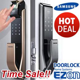 SAMSUNG DIGITAL DOORLOCK EZON Fingerprint PUSH PULL Door