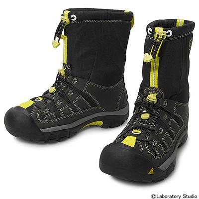 キーン (KEEN) ウィンターポート(Winterport II)BlacK×Neon 1008923 [分類:アウトドア ブーツ・長靴 (メンズ)] 送料無料の画像