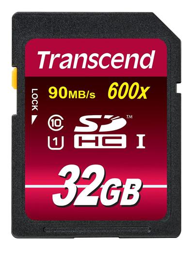正規国内販売代理店カメラ需要に大活躍のハイスピドタイプPCのストレジにもトランセンドSDHCカド32GBClass10UHSI600xUltimateTS32GSDHC10U1