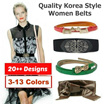 [Restock + Free Earring] New Design Korea Style Fashion Women Belts/ Candy colors/ bowknot belt