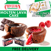 (L2C/L2R) 1 FOR 1 OFFER [AMSTAR Sweet Treat] [Singapore Manufacturer] Molten Lava Raspberry / Belgian Chocolate Cake