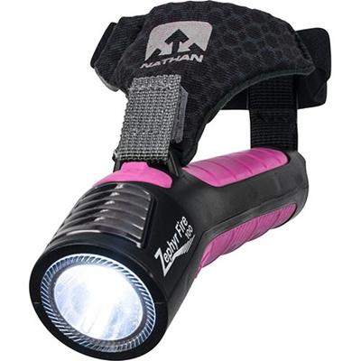 ネイサン(NATHAN) Zephyr Fire 100 Hand Torch B61572000 BLK/F.FCS 【ランニング ジョギング ナイトラン アクセサリー LEDライト】の画像