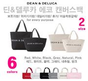 딘앤델루카 에코백 / Popular DEAN and DELUCA 6colors S / M size tote bag Dean & Deluca eco bag in New York