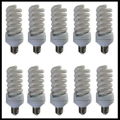 【レビュー記載で送料無料!】家庭用撮影照明 225w インバーター蛍光電球 写真関連の画像
