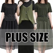 【5.28 update】GSS 500+ style 2017  NEW PLUS SIZE FASHION LADY DRESS dress blouse TOP pan