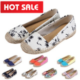 SPECIAL DISCOUNTS!!! RIGHT HERE RIGHT NOW!!! women's canvas shoes/draw braid shoes/girl flats/slip-on/casual/round toe/low heel/denim shoes/perfect shoes for spring and summer outings【M18】