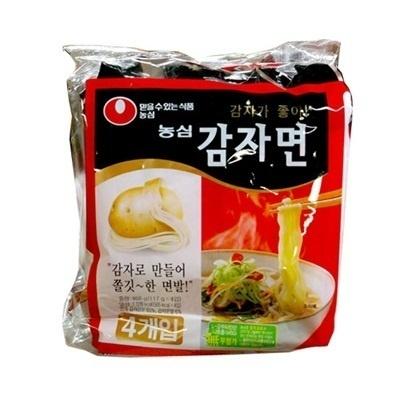 【韓国食品・韓国ラーメン】■韓国のジャガイモラーメン(辛さ0)【5個セット】■の画像