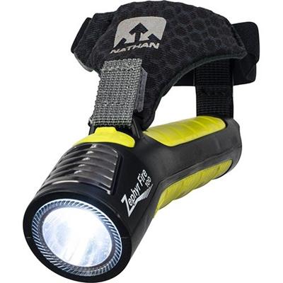 ネイサン(NATHAN) Zephyr Fire 100 Hand Torch B61571000 BLK/S.SPR 【ランニング ジョギング ナイトラン アクセサリー LEDライト】の画像