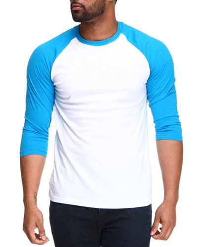 Buy Basic Raglan Tshirt Unisex Kaos Polos Warna Kombinasi