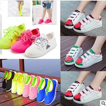 2016春秋の男女靴カジュアルシューズ子供靴スエードスニーカーで大童快適スニーカー