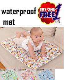 Free pocket mirror!! Diaper Changing Mat★Stroller mattress waterproof Baby cot bedsheet protector★