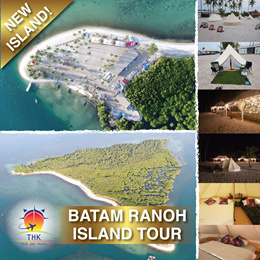 RANOH ISLAND BATAM TOUR PACKAGE (MIN 4PAXS TO GO) PRIVATE ISLAND GETAWAY!!!