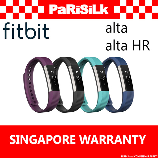 FREE DELIVERY FITBIT Alta / Alta HR Fitness Wristband Deals for only S$198 instead of S$0
