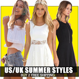 【SUMMER HOT SALE】Qoo10 BIG SALE US/UK STYLE COLLECTION LADIES DRESS TOP BUY 2 FREE SHIPPING Limited Qty Time Sal