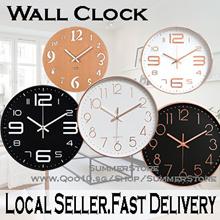 ★Designer Silent Wall Clock★ Minimalist / Modern / Classic / Silent Movement / Quartz / Nordic