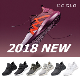[Tesla Footwear] Sports running shoes classic sneakers shoes trekking Light weight Free Shipping