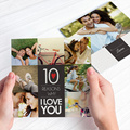 """40-Page 6""""x 6"""" Mini Square Softcover Photobook from Photobook Malaysia"""
