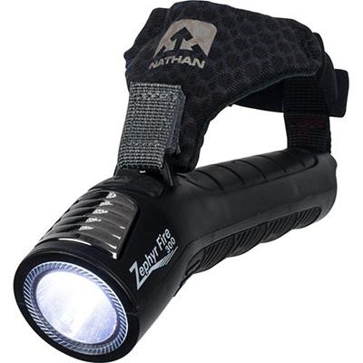ネイサン(NATHAN) Zephyr Fire 300 Hand Torch B61573000 BLACK 【ランニング ジョギング ナイトラン アクセサリー LEDライト】の画像
