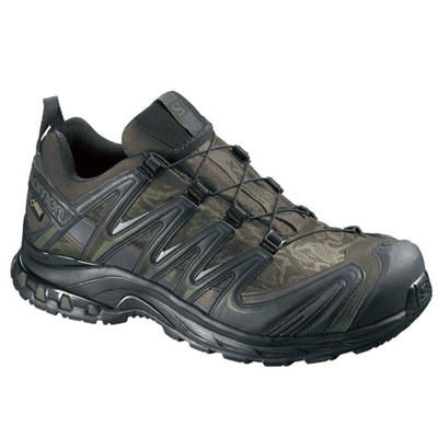 サロモン(SALOMON) プロ3Dゴアテックス(XA PRO 3D GTXR) CAMO DARK KHAKI/BLACK/IGUANA GREEN L37332400 【アウトドアウェア スポーツウエア ランニングシューズ 靴 メンズ】の画像