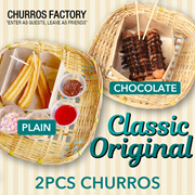 [CHURROS FACTORY] - Classic Original - 2 Pcs CHURROS  at $1.90 Only. Great deals | Grab Now! | Buy Now!