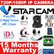 VStarcam IP Camera CCTV Night Vision Pan/Tilt Wireless High Defination Easy To Use Safety Mark