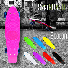 DABADA スケートボード スケボー ペニータイプ ミニクルーザーボード レビューを書いて送料無料