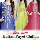 New Kaftan Payet 2016//Kaftan Payet Chiffon//fit xxxl
