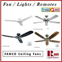 [REGIS] Fanco Ceiling Fan FFM3000/FFM2000/FFM4000/FFM6000 Light Kits+Remote+LED Bulb-Local War