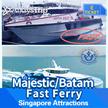 [Batam Ferry] Singapore/Batam - MAJESTIC/BATAM FAST FERRY (HFC) 2 Way All IN (SEKUPANG/BATAM)